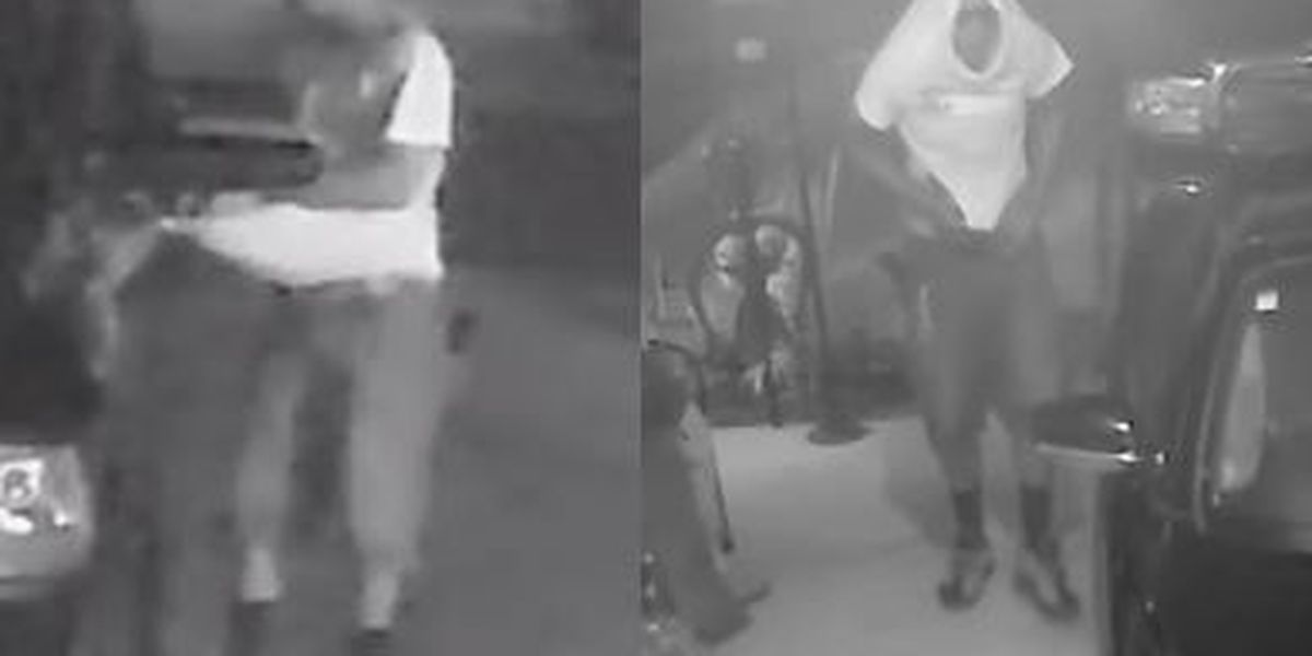 Biloxi police: Suspect wanted for stealing gun from car