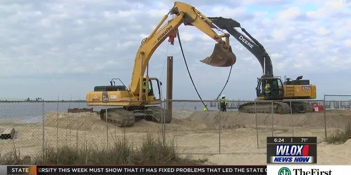 Phase One of Coast outfall project underway in Biloxi