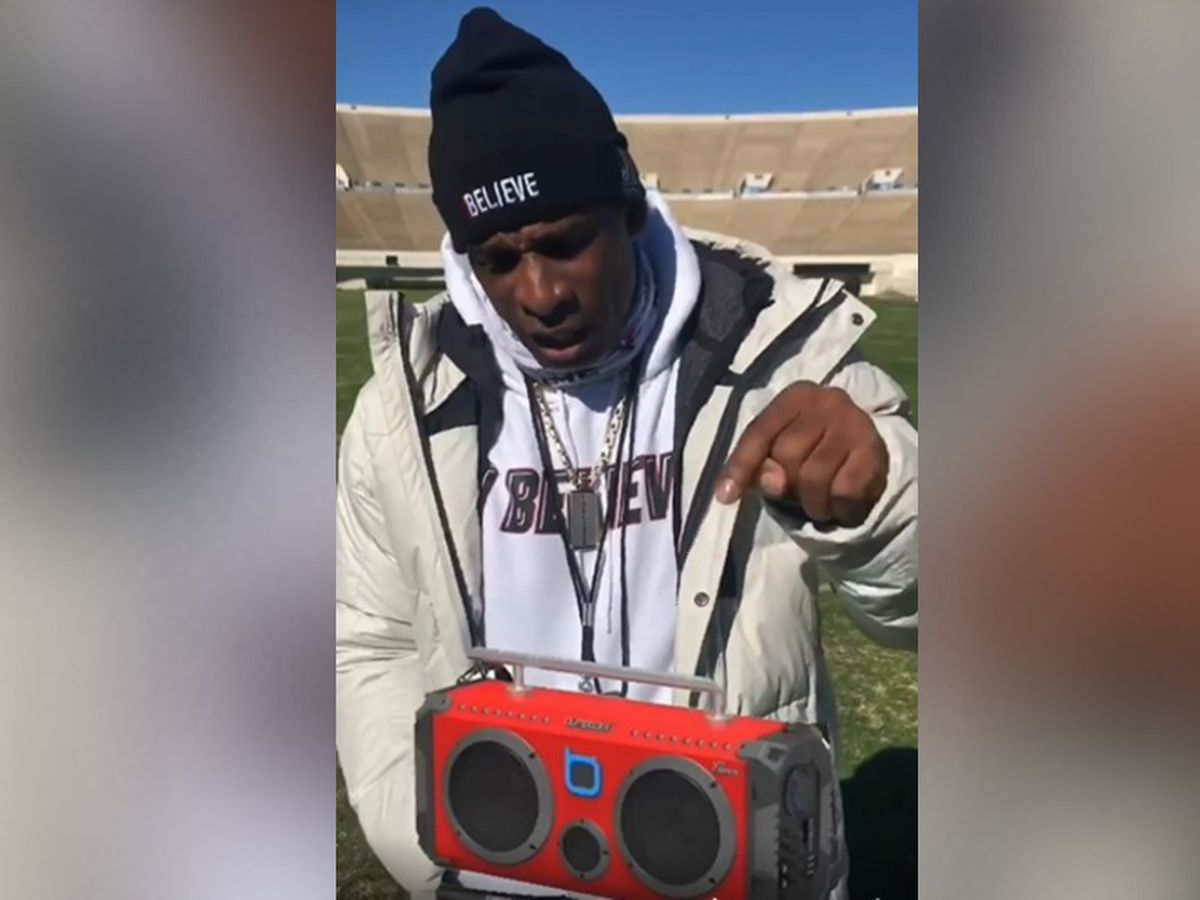 Deion Sanders gets back boombox after theft; JPD identifies suspect