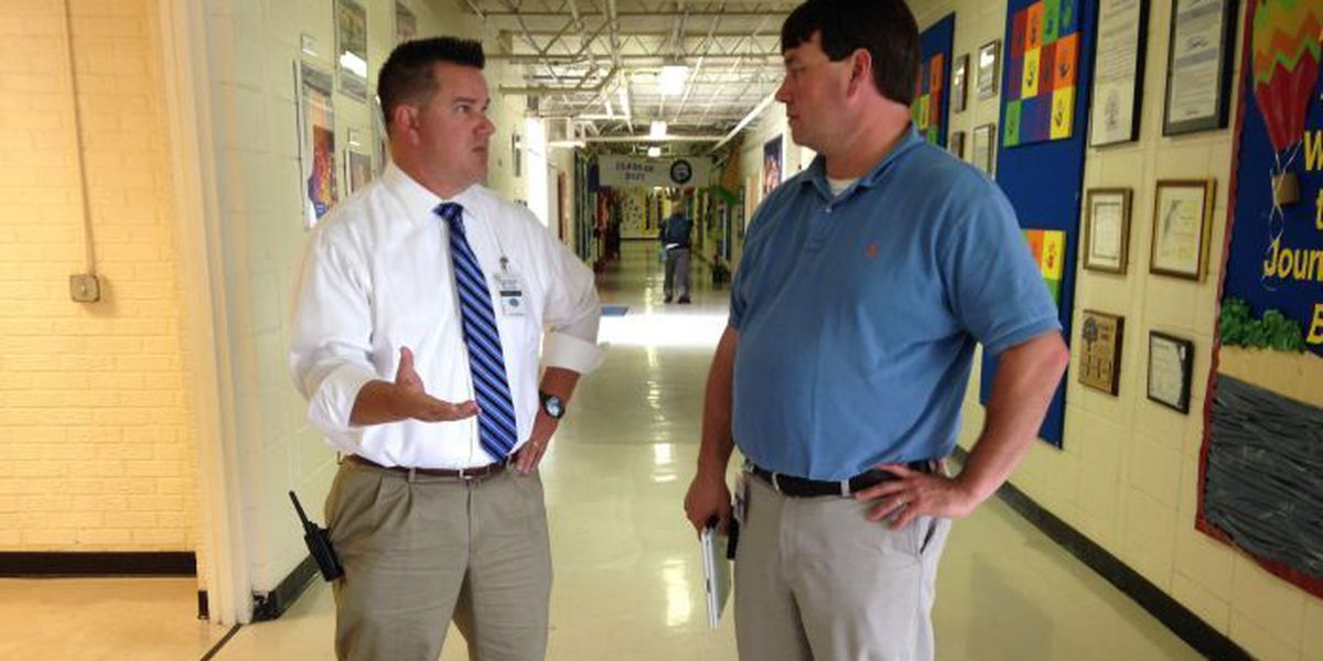 Business owners take on job as 'principal for a day' in OS schools