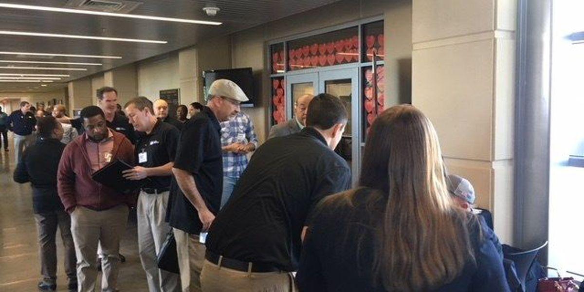 Hundreds pack Ingalls hoping to land a job