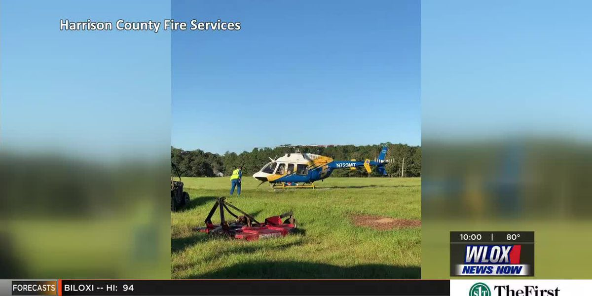 ATV accident in Harrison County leaves woman hospitalized