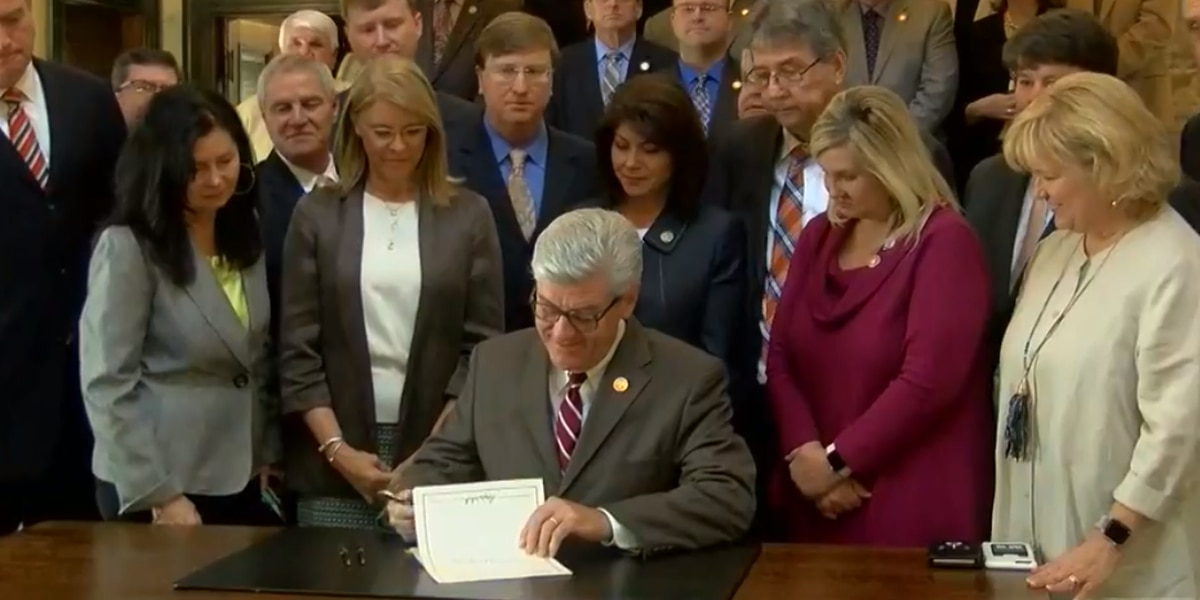 Governor signs fetal heartbeat bill into law