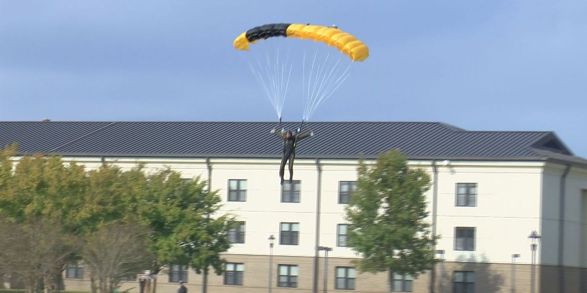 U.S. Army Golden Knights take local teachers for a ride at 14,000 feet