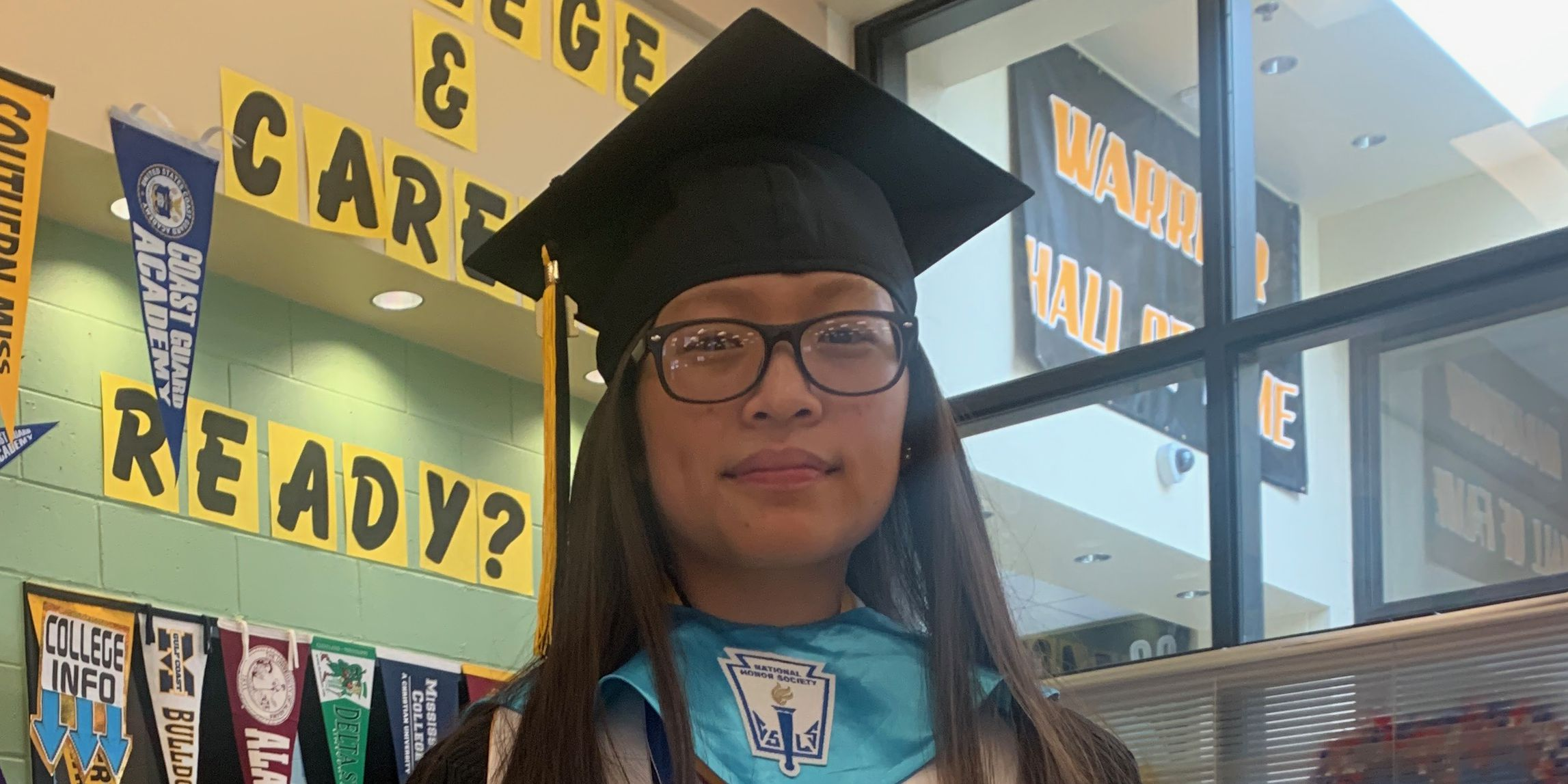 D'Iberville student graduates second in class 8 years after parents' tragic death