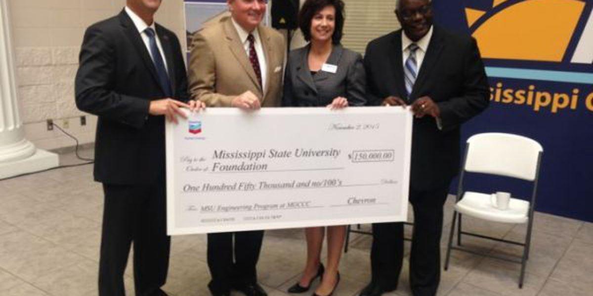 Chevron makes donation to MGCCC/MSU engineering program