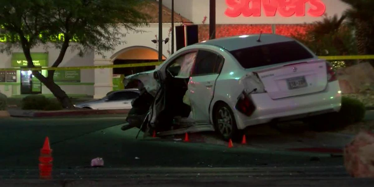 Boy, 1, killed in Las Vegas car crash; mother charged with drunken, reckless driving