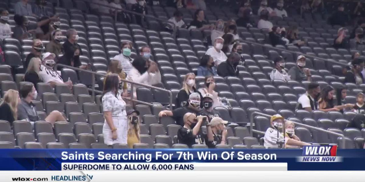 Saints 'appreciate,' 'feel the difference' with more fans in stands