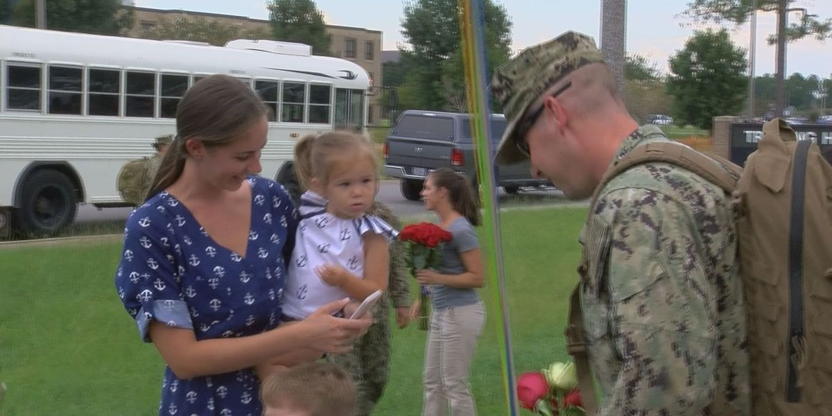 Seabees return home from overseas tour