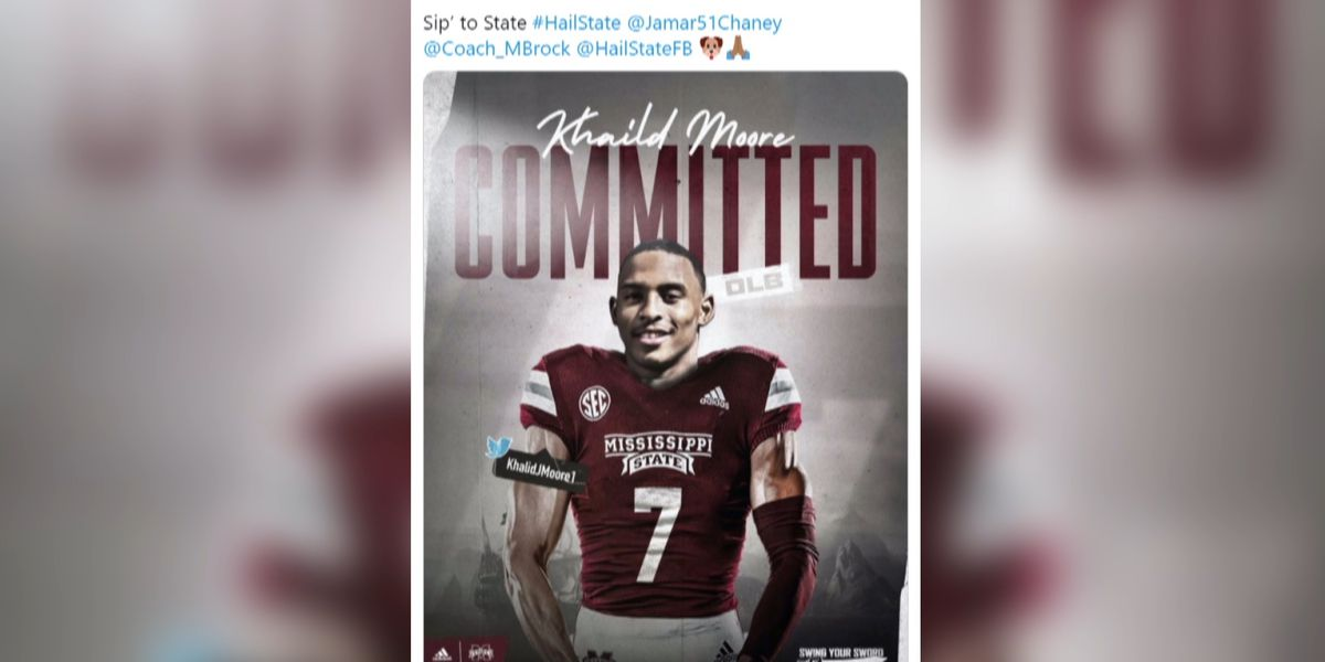 Poplarville's Khalid Moore commits to Mississippi State