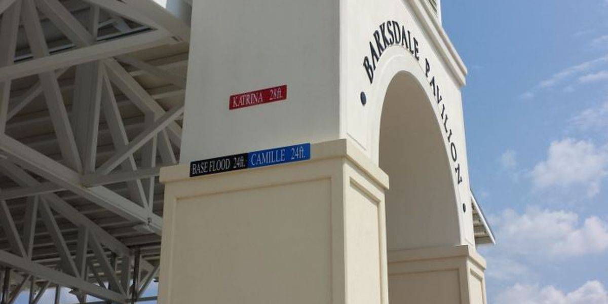 High water mark plaques going up in the coastal counties