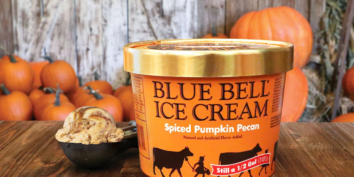 Spiced Pumpkin Pecan ice cream is now a thing and we're here for it
