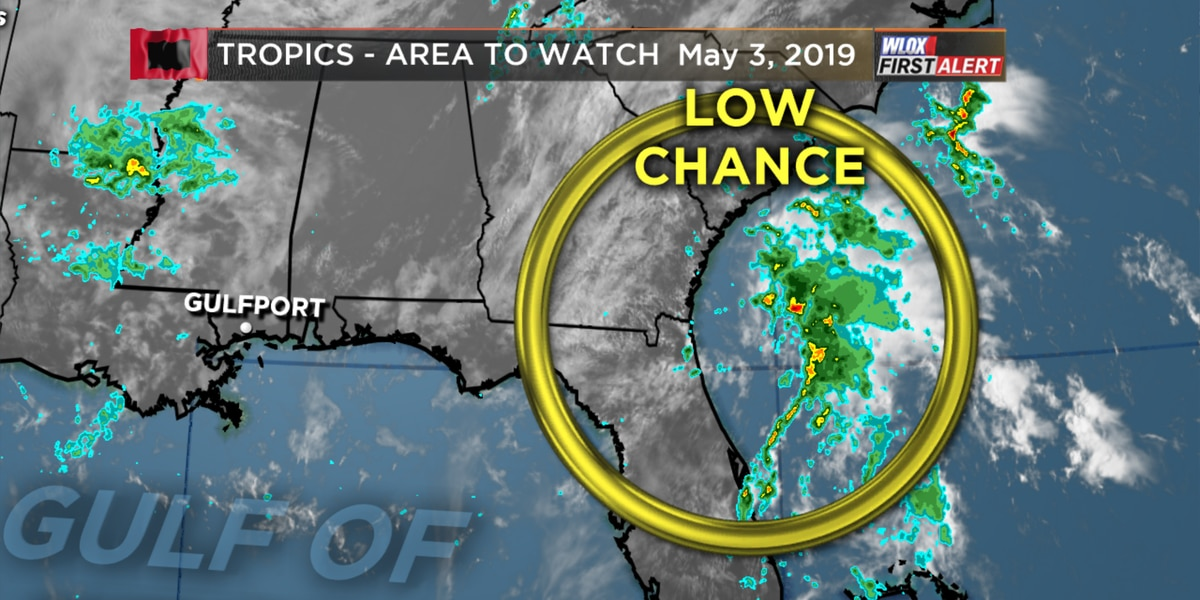 Tropical disturbance near Florida remains no threat to South MS