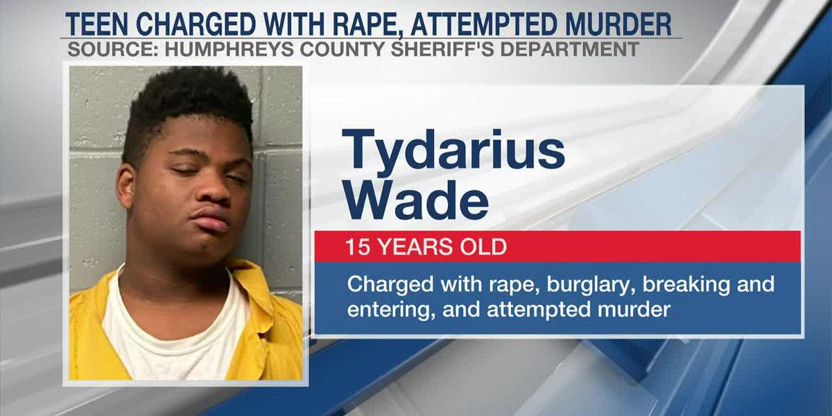 Accused rapist, 15, faces $2 million bond in elderly Mississippi woman's attack