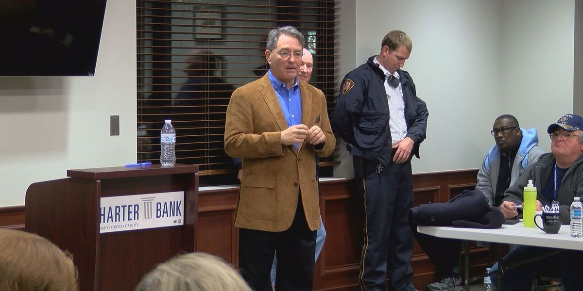 State Representative hears residents' concerns at town hall meeting