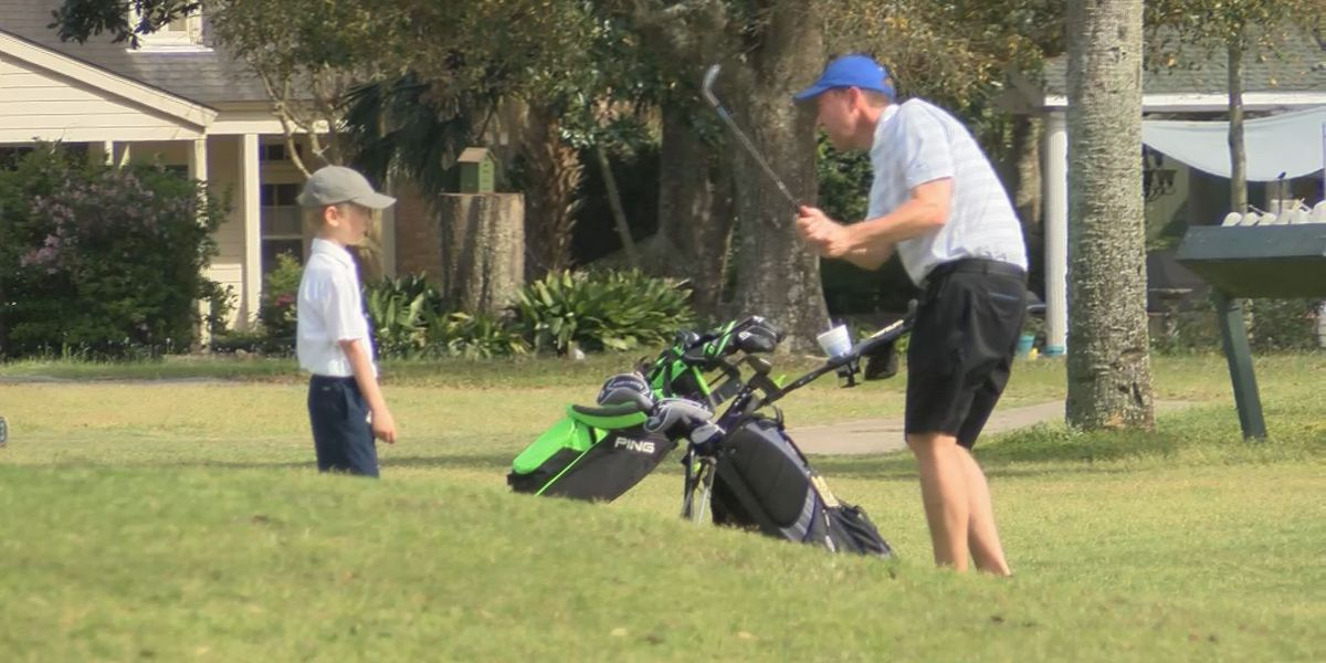 Kids golf tournament goes on at Great Southern Golf Club