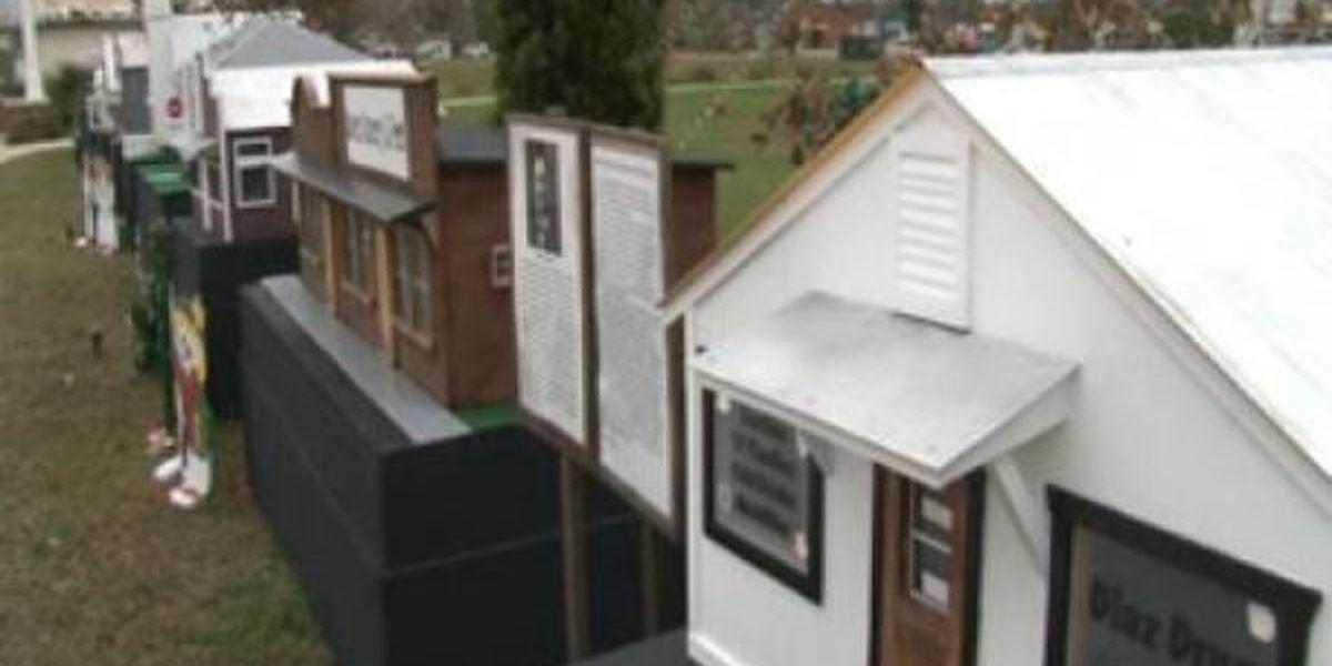Miniature village offers city history lesson