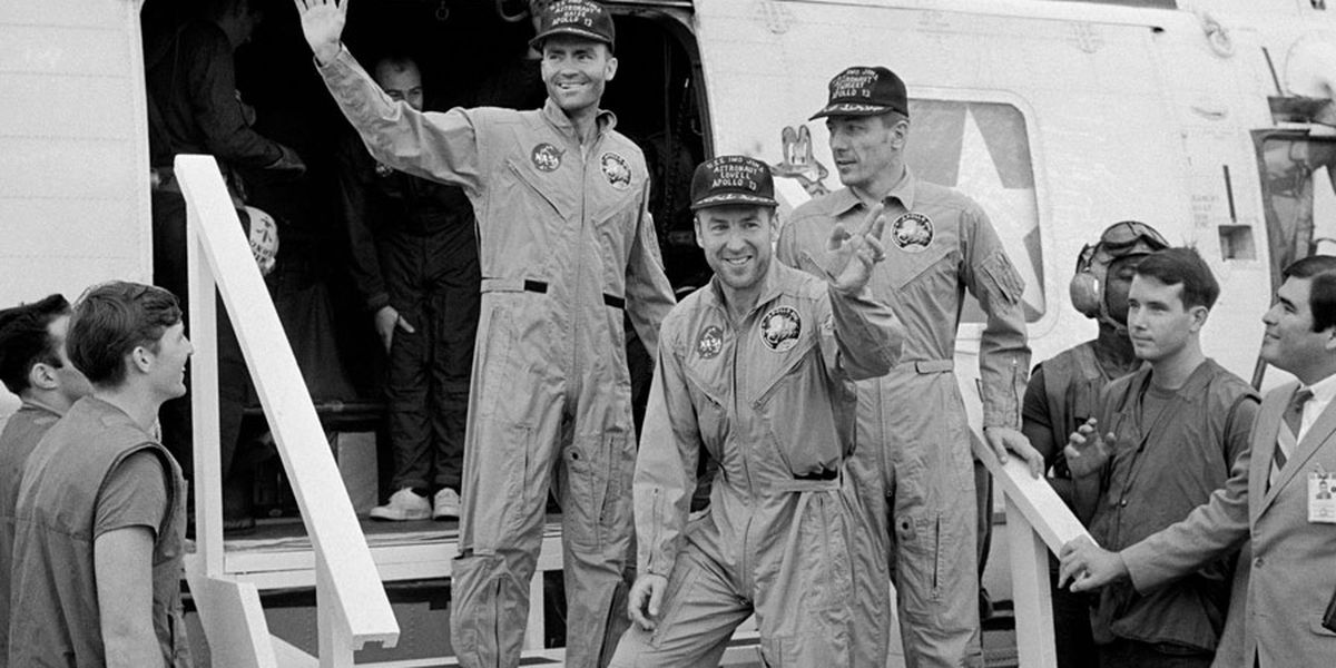 Fred Haise recalls historic Apollo 13 mission 50 years later