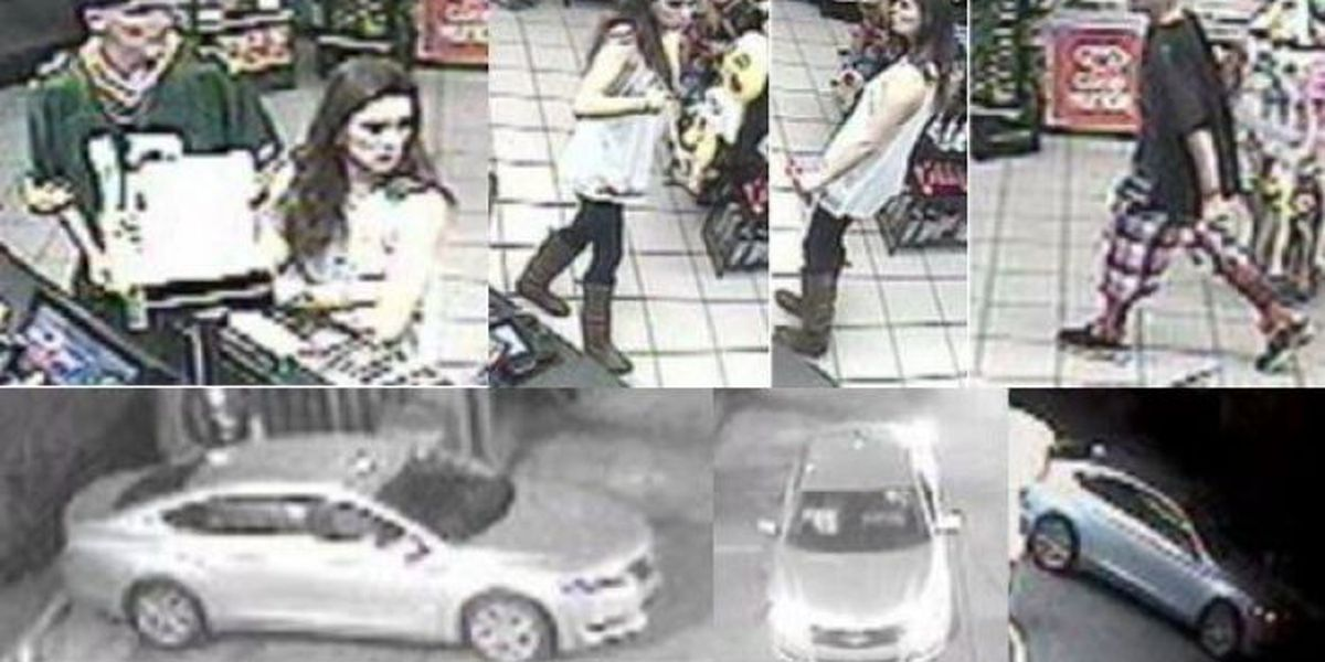 Biloxi PD wants to know, do you recognize these faces?