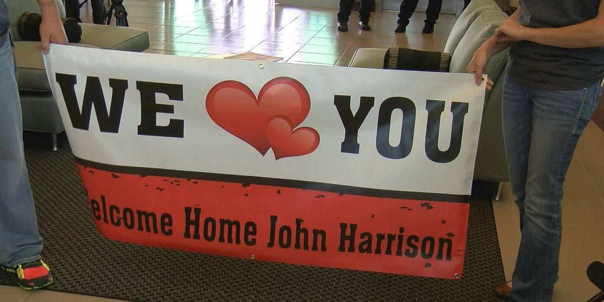 UMC welcomes John Harrison Doucet home
