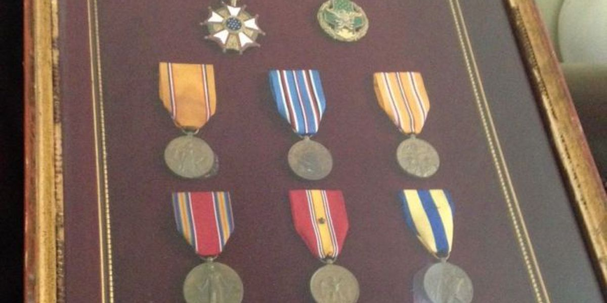 Gulfport man seeks owner of military medals lost during Katrina