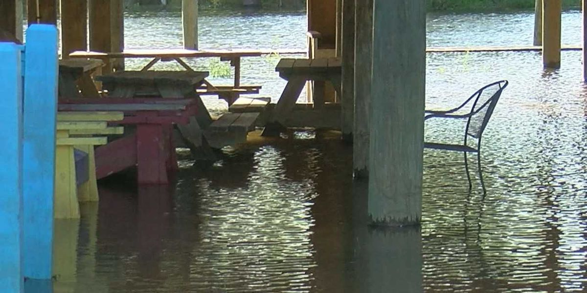Flooding reported in Escatawpa and other parts of Jackson County