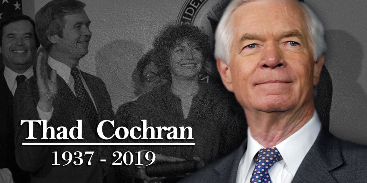 Mourners remember former US Sen. Thad Cochran in Oxford