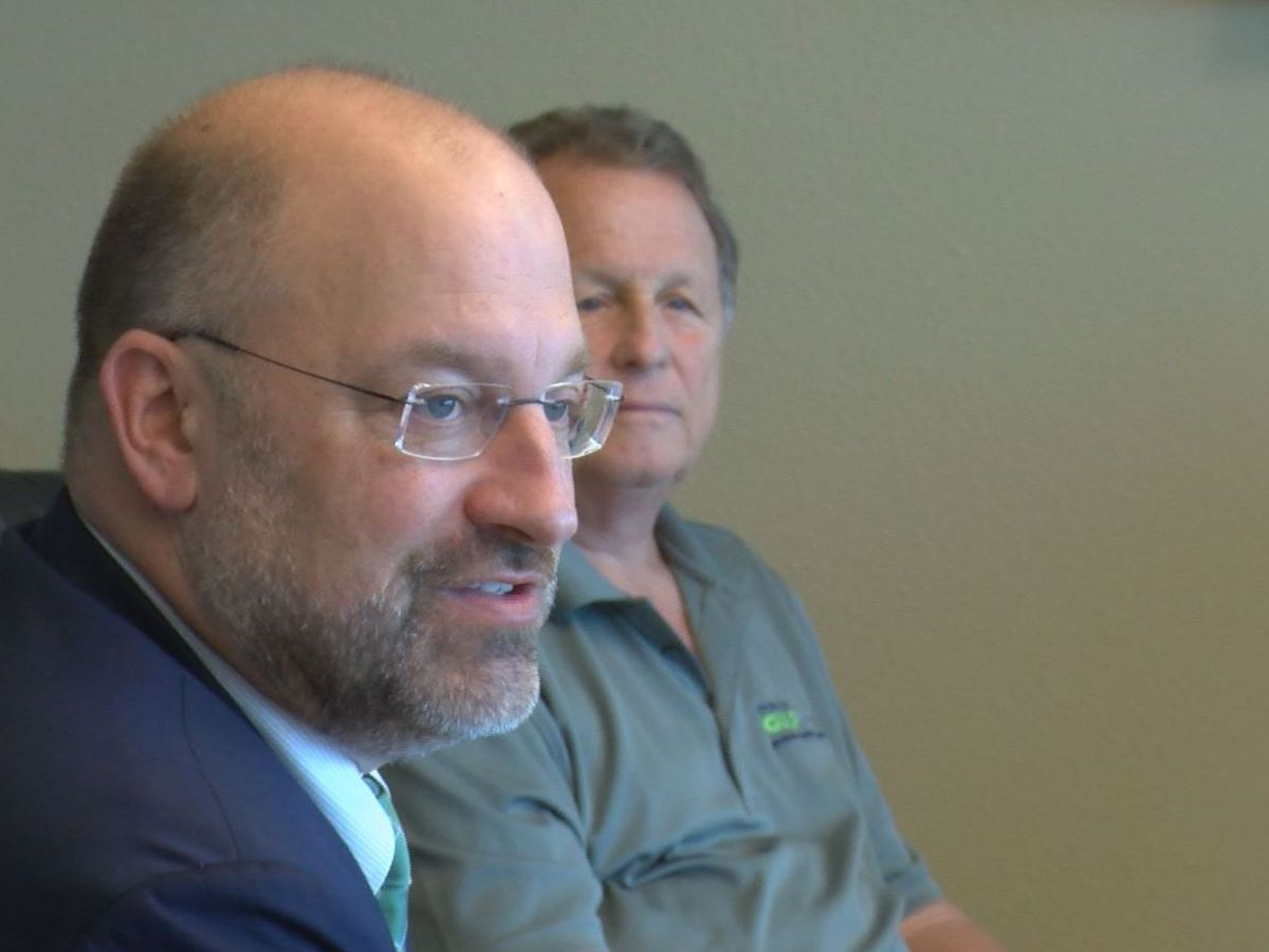 Port director Jonathan Daniels emotional at first board meeting since announcing resignation