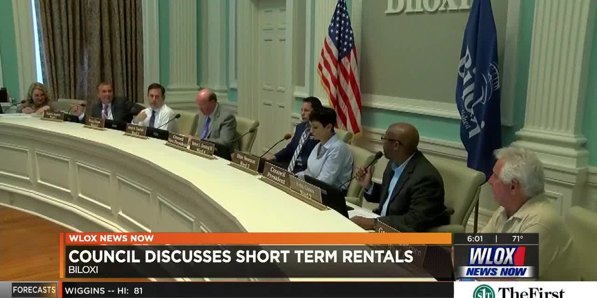 LIVE REPORT: Biloxi City Council discusses short-term rentals