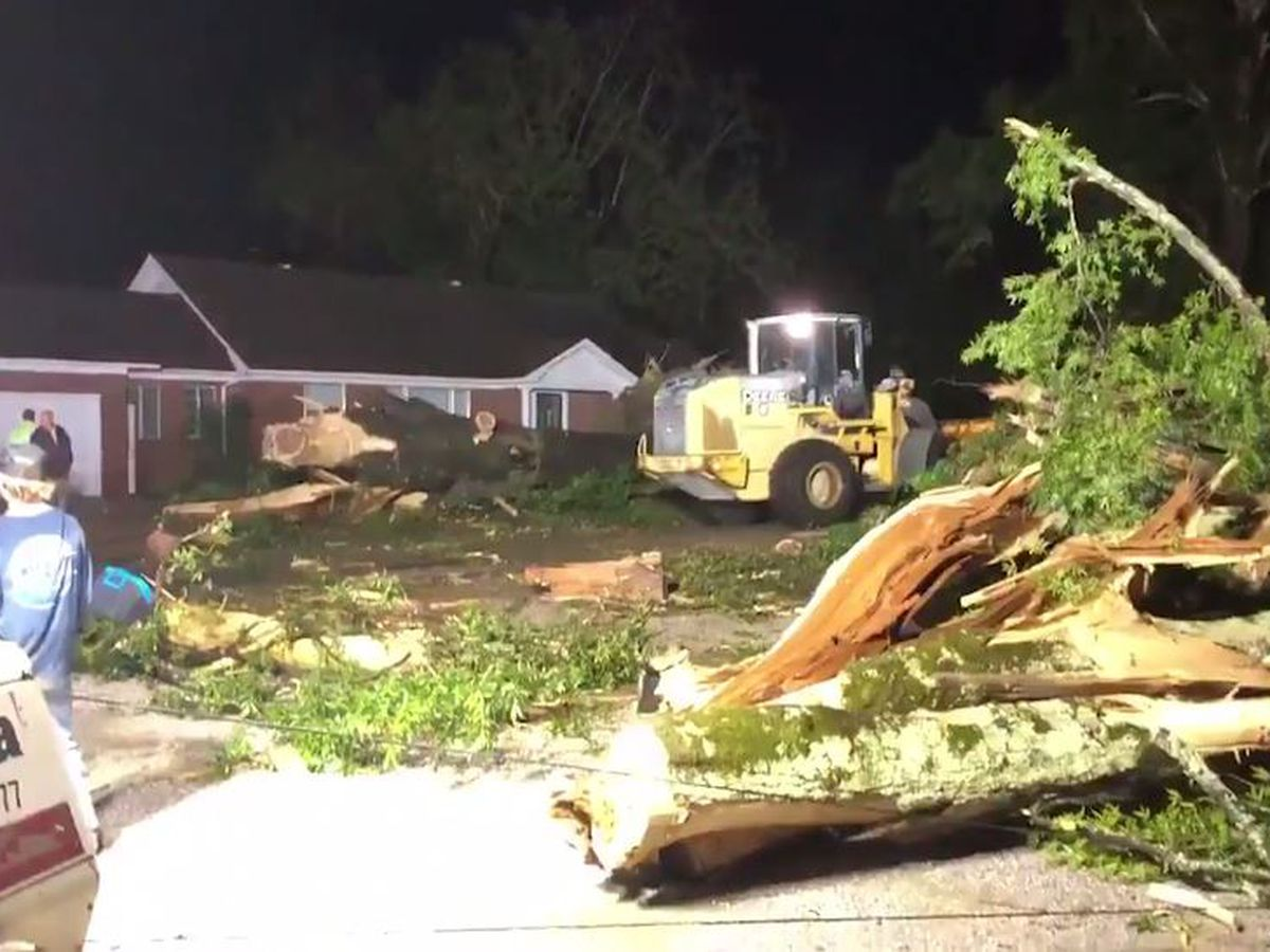 Storms spawn twisters in Mississippi, kill 2 in Georgia