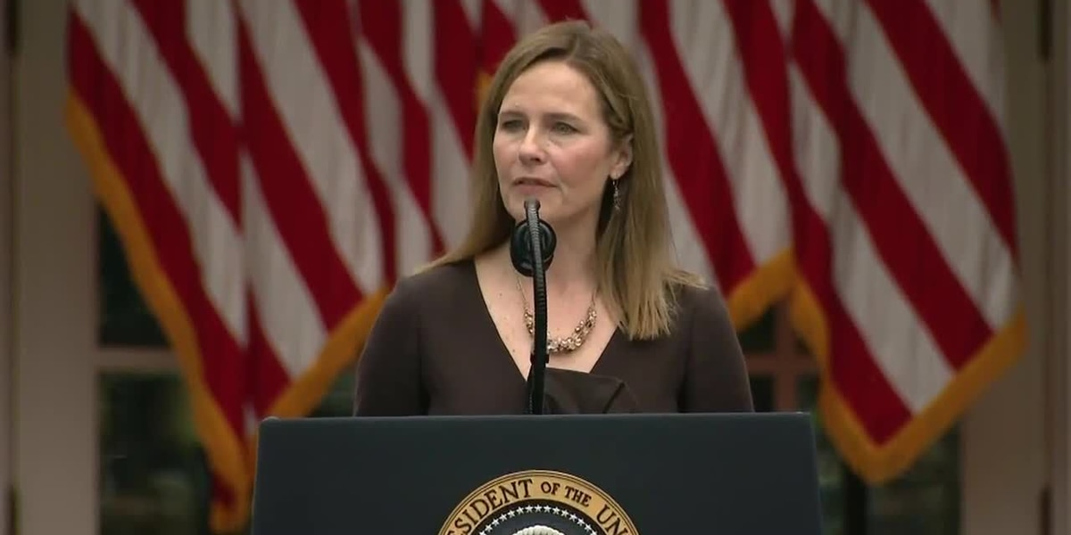 President Trump nominates Amy Coney Barrett to Supreme Court