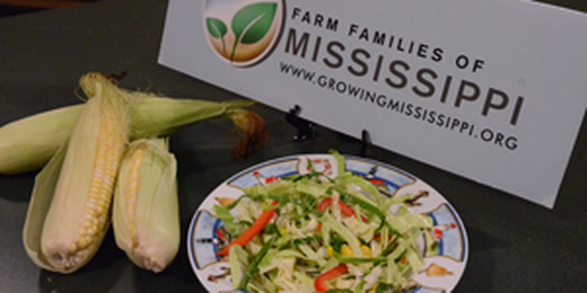 Cabbage-Corn Slaw from Farm Families of Mississippi.