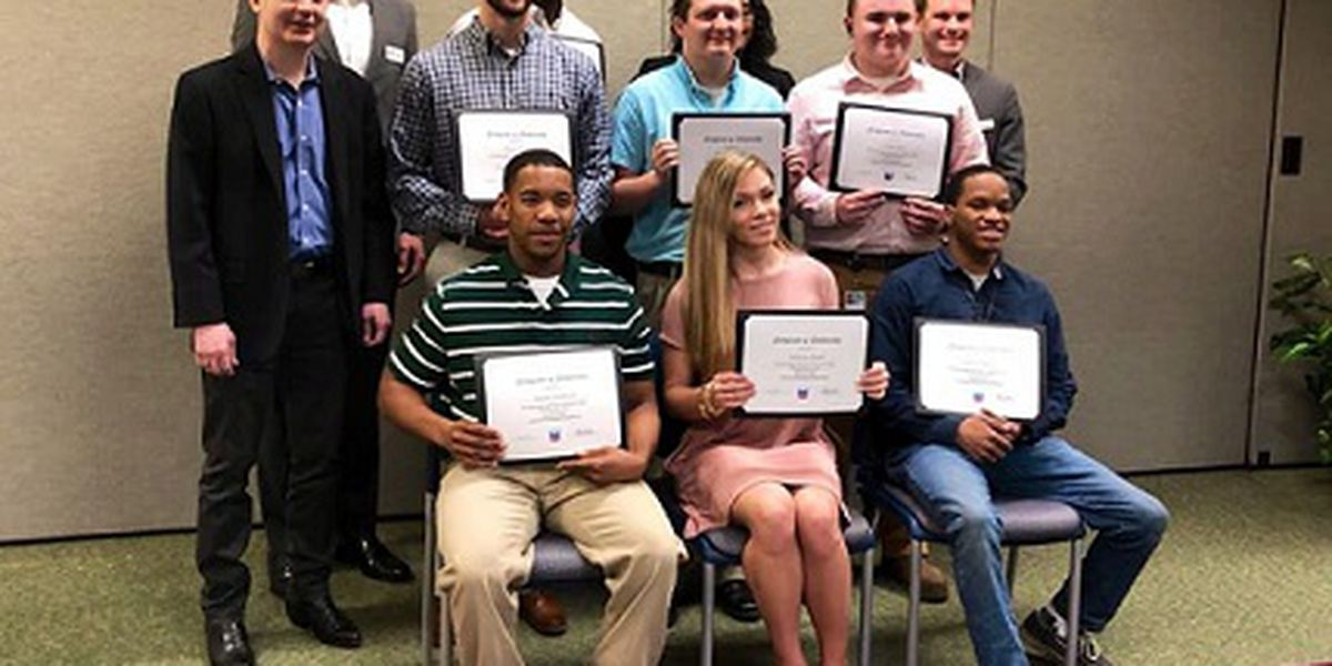 8 MGCCC students awarded scholarships from Chevron Pascagoula Refinery