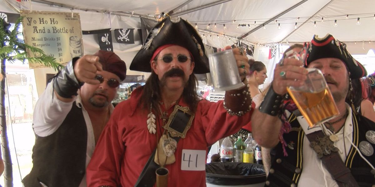 Pirates invade Bay St. Louis for 4th annual Pirate Day in the Bay