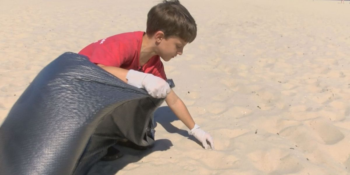 Local school teams up with Disney to clean up the Coast