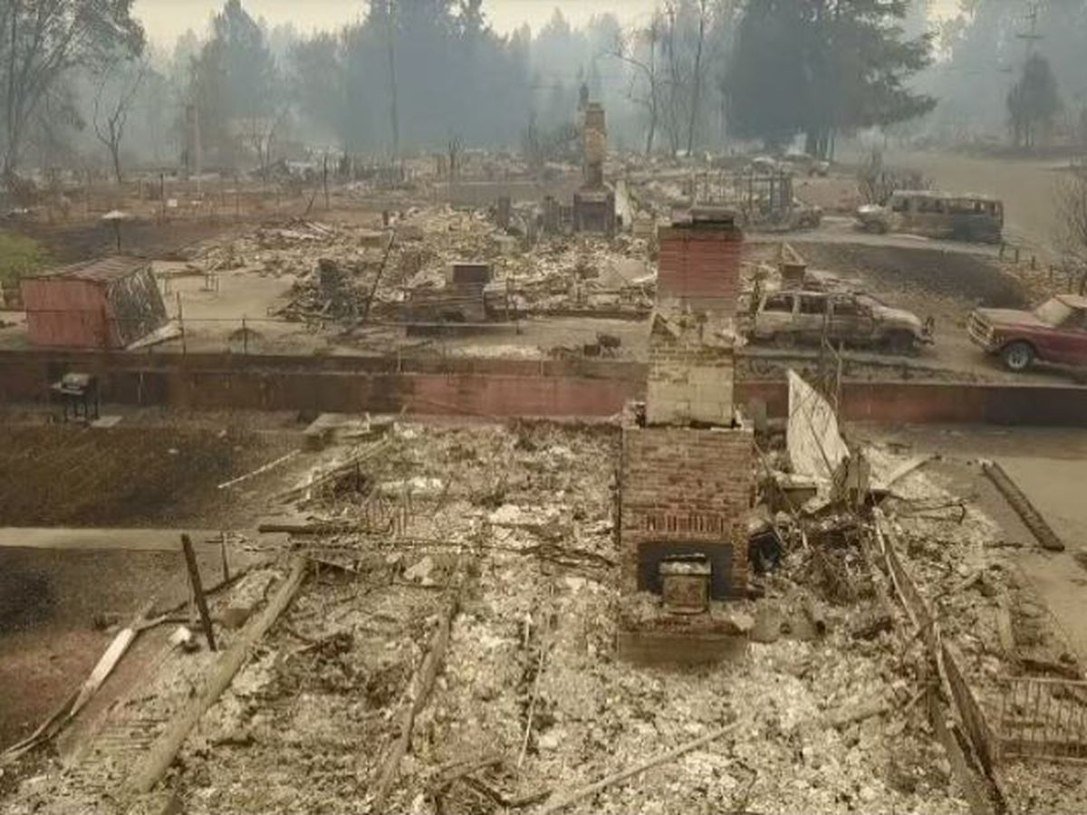 Firefighters begin to see progress against deadly California blazes; almost 100 missing named