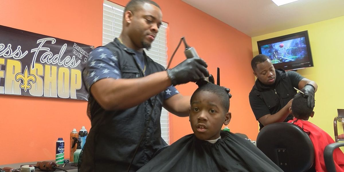 Barbers in Gautier reach out to youth through free haircuts