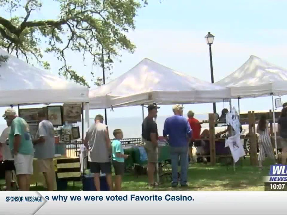 Pascagoula hosts first Free Flowin' Fest since the pandemic