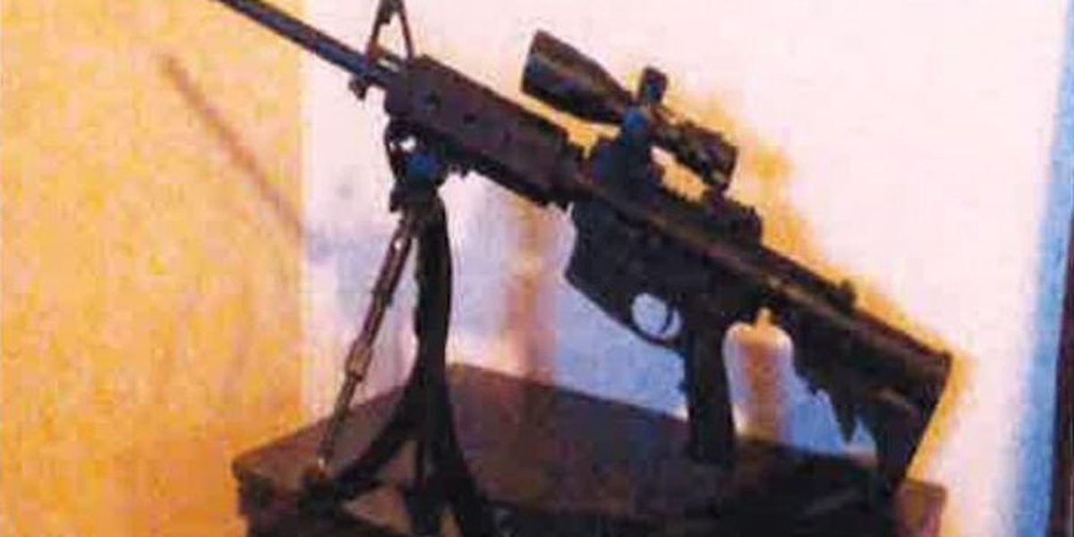 AR15 rifle among items stolen from Moss Point home
