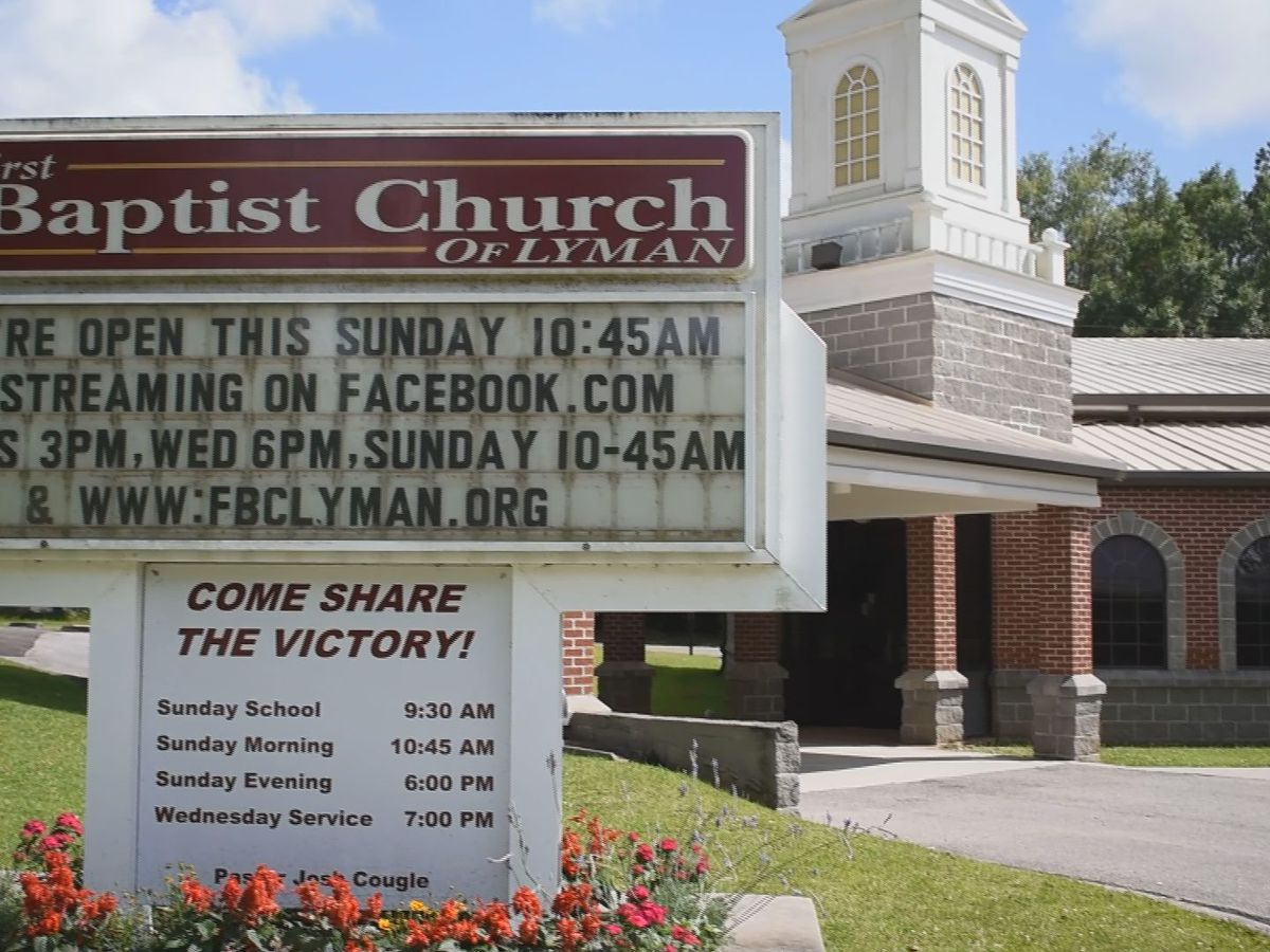 Coast church welcomes congregation back for Sunday service with a few changes
