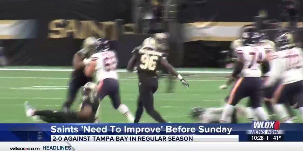 Brees: 'We need to improve' before Sunday