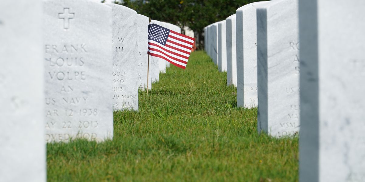 Memorial Day weekend takes on a different look at Biloxi National Cemetery