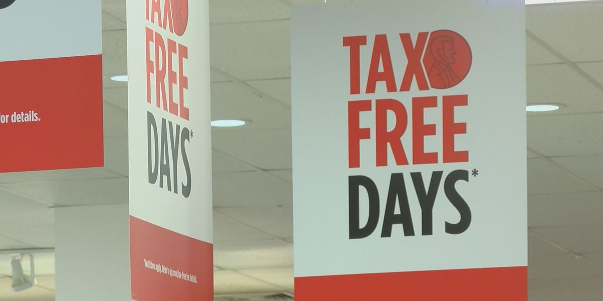 South Mississippians hit stores for tax-free weekend
