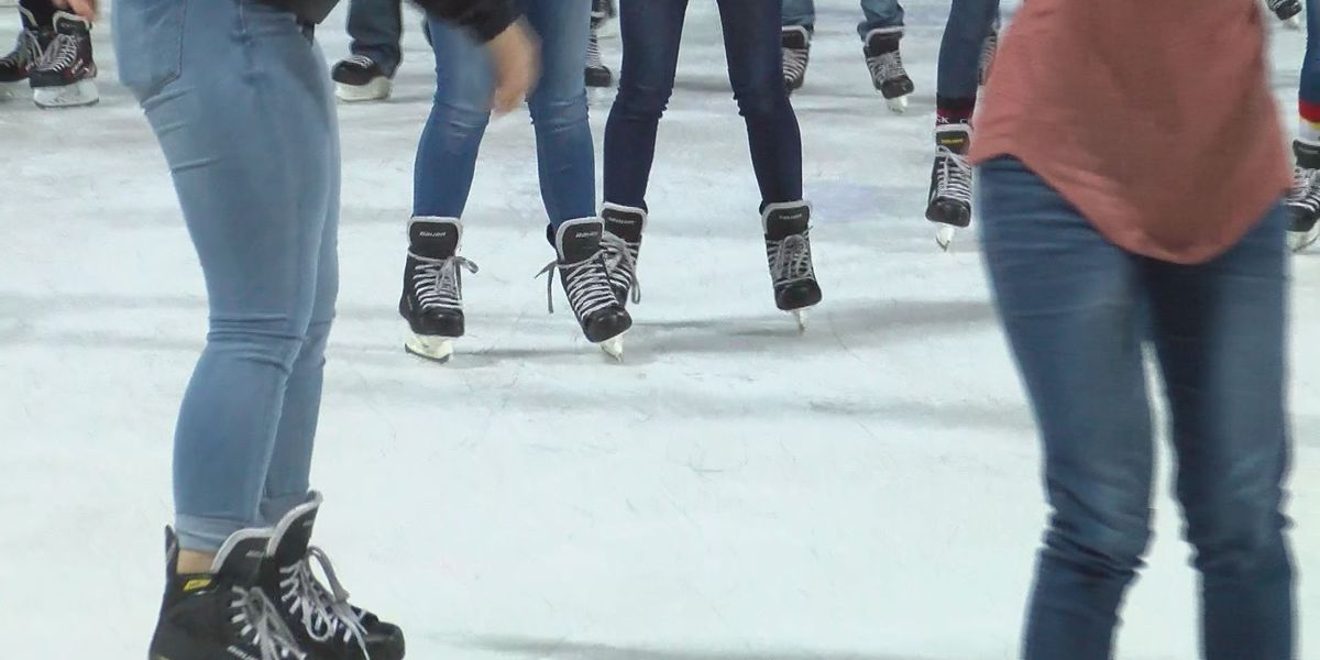 Ice skating returns to the Coliseum for six weeks of winter fun