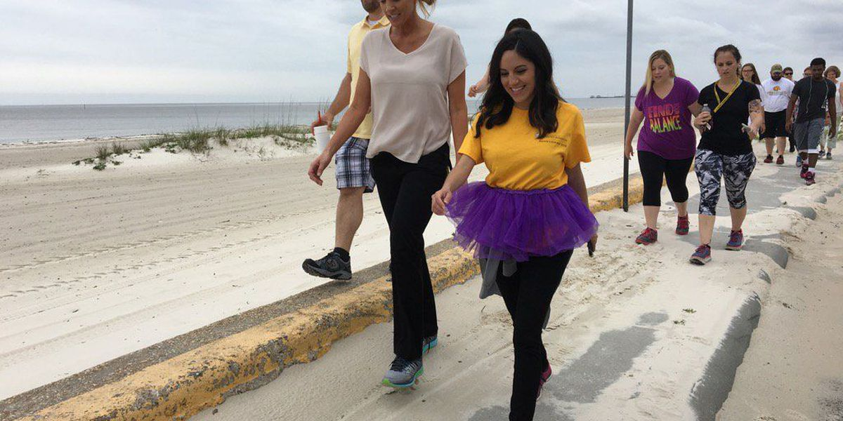 USM Gulf Park hosts first 'Seaside Shuffle' to promote fitness