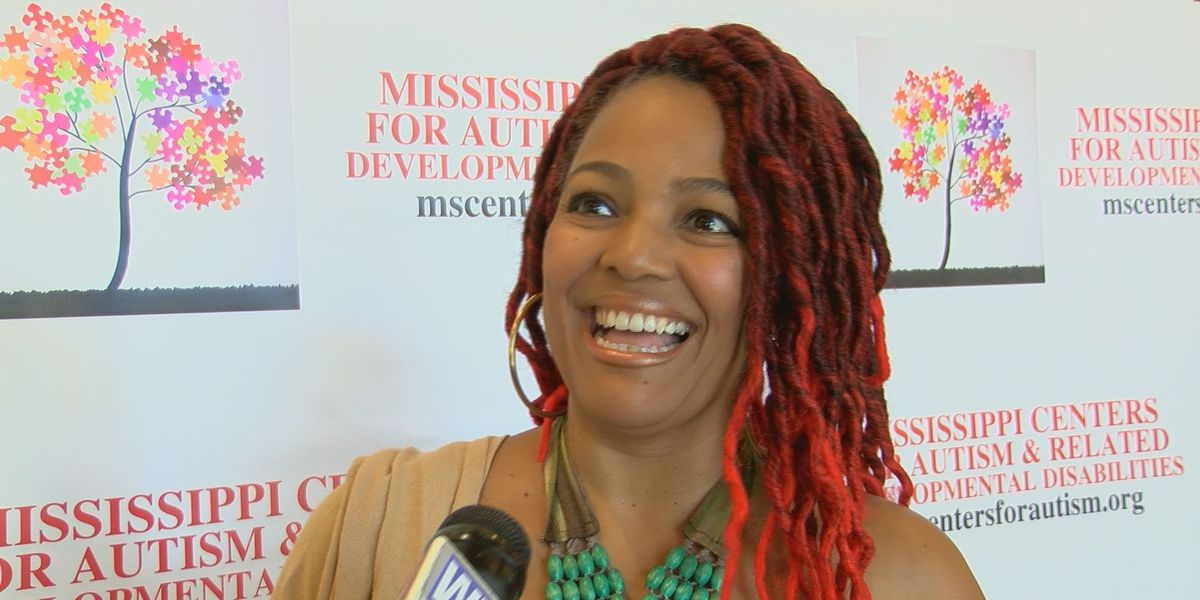 Actress Kim Fields supports autism awareness in Mississippi