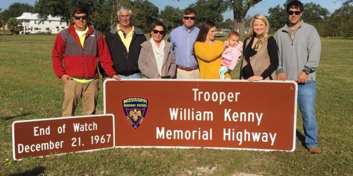 MHP trooper killed in 1967 honored with highway marker