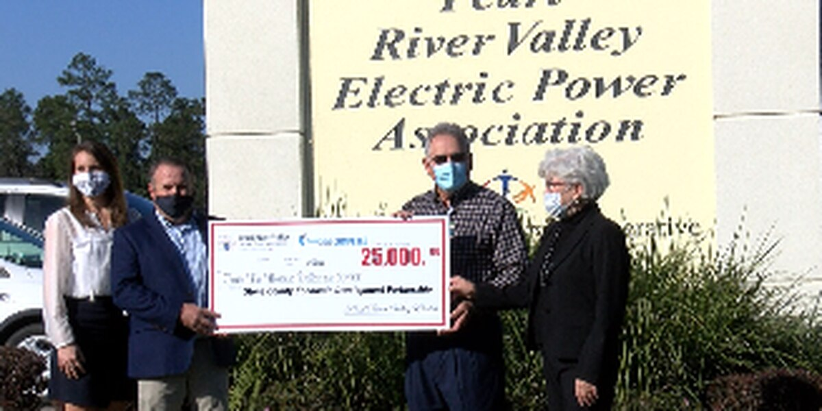 Pearl River Valley Electric awards Stone County EDP with Cooperative Competes grant