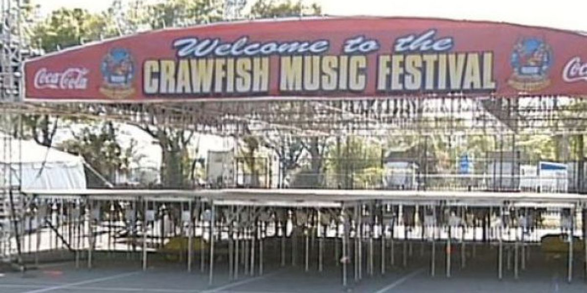 Headliners for 24th annual Crawfish Music Festival announced