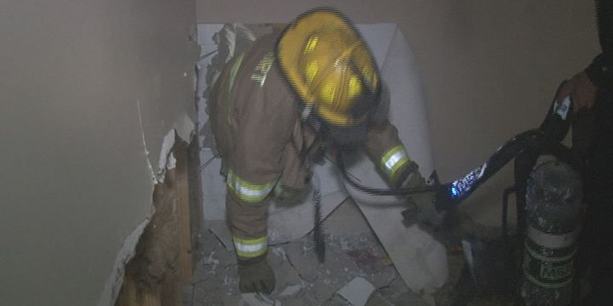 Gulfport training exercise calls for being trapped in burning building
